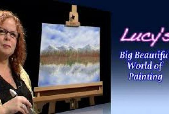 Lucy's Big Beautiful World of Painting
